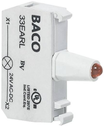 Előlapra felszerelhető LED-modul, BACO 33RAWH