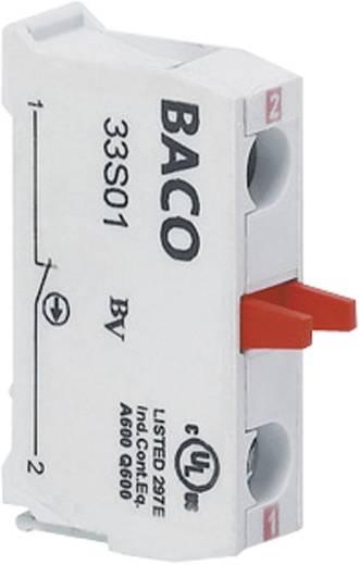 Érintkezőelem 1 záró nyomó 600 V BACO BA33S10 1 db