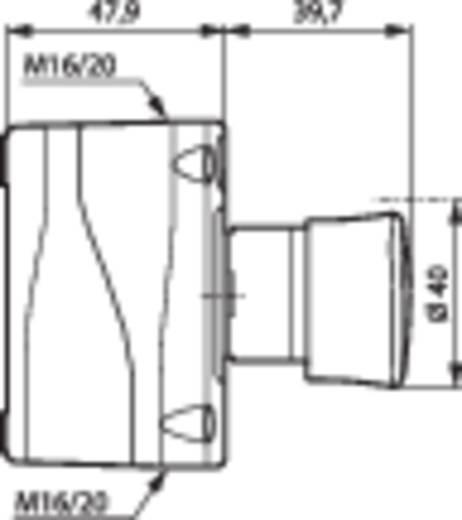 Vészleállító gomb házban, 1 nyitó, Baco BALBX17301