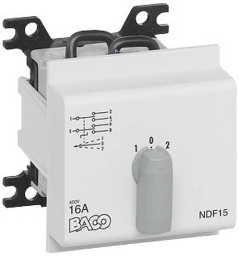Terhelés leválasztó kapcsoló, 16 A 2 x 30 ° szürke BACO NDF09 1 db