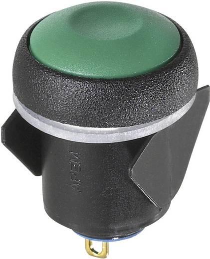 Kapcsoló 24 V/DC 0,1 A 1 x KI/BE APEM IQR1S4B2 reteszelő 1 db