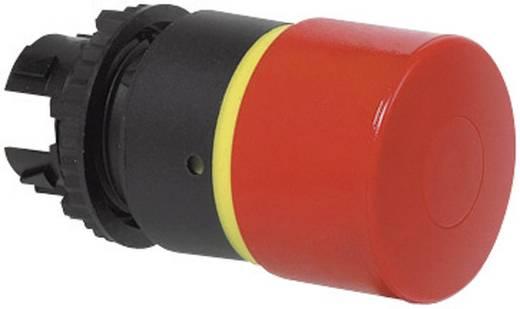 Gomba nyomógomb Műanyag előlapi gyűrű, státuszjelzővel Piros BACO L22DQ01 1 db
