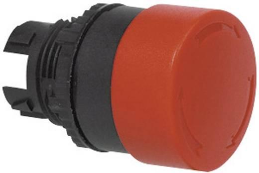 Gomba nyomógomb Műanyag előlapi gyűrű Piros BACO L22EC01 1 db