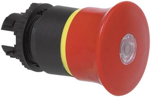 Vészkikapcsoló Műanyag előlapi gyűrű, státuszjelzővel Piros