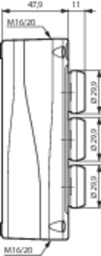 Nyomógomb BACO LBX30430 IP66 Nyomó 1 db