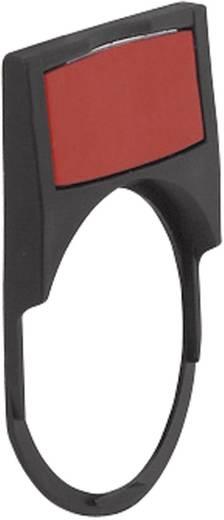BACO Címketartó, 22 mm-es, alumínium behelyezhető táblával LWP39