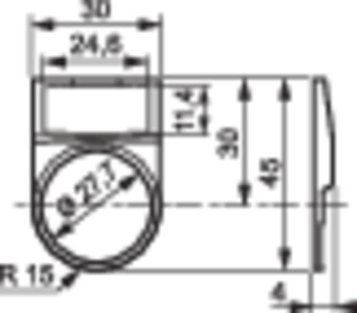 Címke tartó jelölővel 22 mm, Baco LWP29