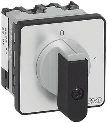 Terhelés leválasztó kapcsoló, 16 A 1 x 90 ° szürke, fekete BACO NB01AQ1 1 db