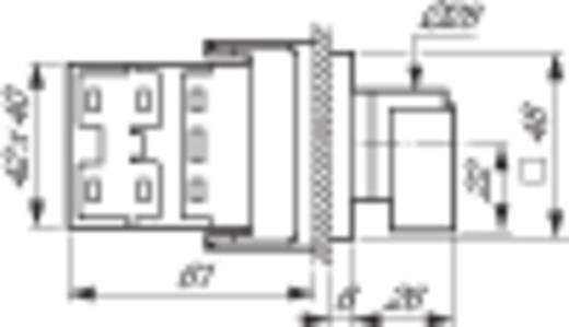 BACO BAND03AX80 3 fokozatú kapcsoló, 90 °