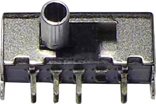 Tolókapcsoló 50 V/DC 0.3 A 2 x BE/BE/BE