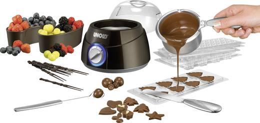 Csoki fondü készítő, 250 ml, barna/ezüst, Unold 48667