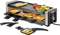 Raclette grillsütő, szabályozható hőmérsékletű 8 sütőtálcával Unold 48765 Unold