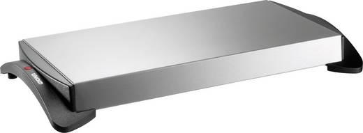 Melegen tartó főzőlap, 1100W, ezüst, fekete, 465x60x250 mm, Unold 58815