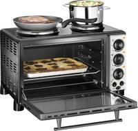 Mini elektromos sütő és grill, főzőlappal, 28 l, Unold 68855 Unold