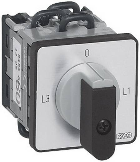 Ampermérő átkapcsoló 16 A 2 x 90 ° Szürke, Fekete BACO NY11AQ1 1 db