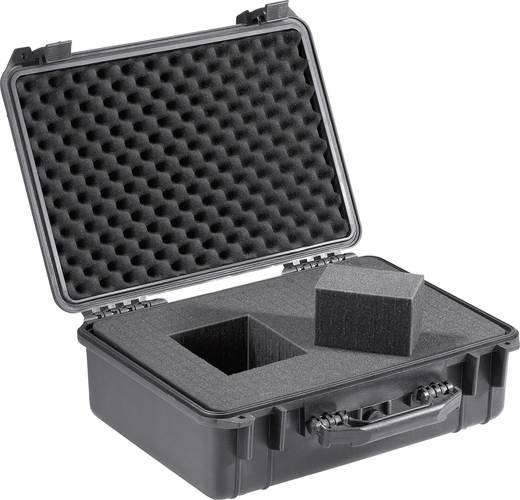 Vízálló műszerkoffer, hordtáska, max. 25 kg-ig 460 x 360 x 175 mm Polipropilén Basetech Outdoor 708503