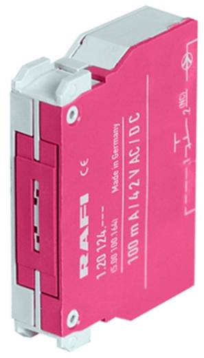 Érintkezőelem 2 nyitó nyomó 35 V RAFI 5.00.100.161/0000 5 db