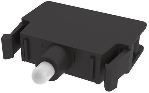 LED elem nyomó 30 V/DC, 30 V/AC Pizzato Elettrica E2LP1A2V1 1 db