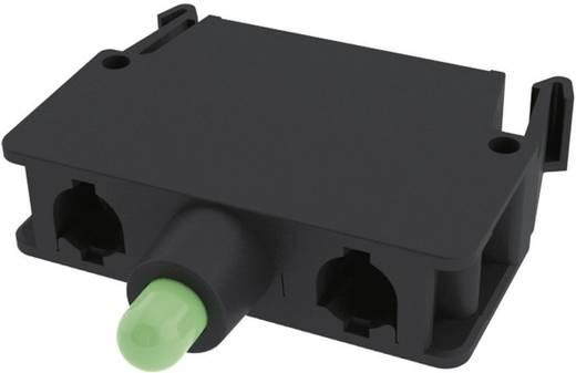 LED elem nyomó 30 V/DC, 30 V/AC Pizzato Elettrica E2LF1A4V1 1 db