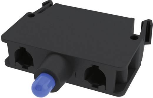 LED elem nyomó 30 V/DC, 30 V/AC Pizzato Elettrica E2LF1A6V1 1 db