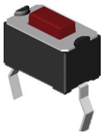 Nyomógomb 12 V/DC 0.05 A 1 x KI/(BE) Diptronics DTS-32N-V-B Nyomó 270 db