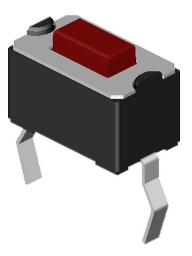 Nyomógomb 12 V/DC 0.05 A 1 x KI/(BE) Diptronics DTS-31N-V-B Nyomó 270 db