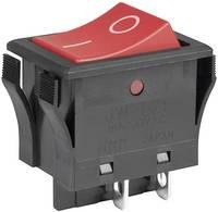 Billenőkapcsoló, 250 V/AC, 16 A, NKK Switches JWL21RA1A (JWL21RA1A) NKK Switches