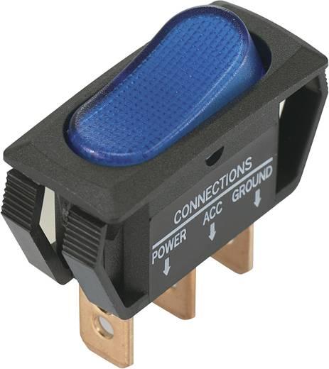 Billenőkapcsoló 12 V/DC 25 A 1 x KI/BE kék színű SCI R13-242B2 reteszelő 1 db