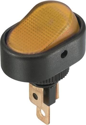 Billenőkapcsoló 12 V/DC 30 A 1 x KI/BE SCI R13-133B3 reteszelő 1 db, sárga