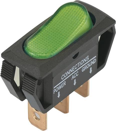 Billenőkapcsoló 12 V/DC 25 A 1 x KI/BE SCI R13-242B2 reteszelő 1 db
