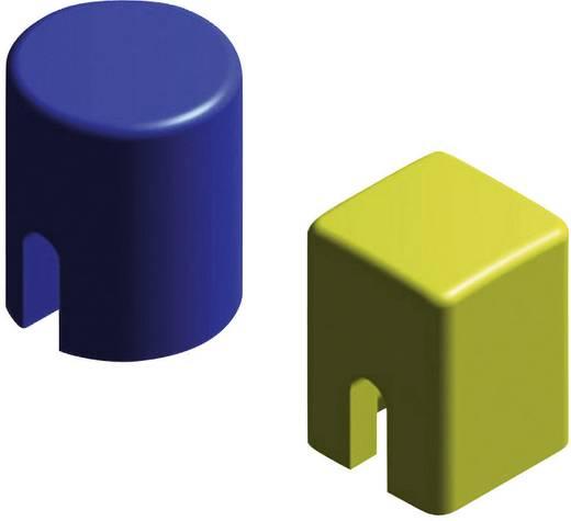 Diptronics ipari kiszerelés Nyomógomb sapka KTSC-21G szögletes zöld alkalmas a DTS(M)-24 nyomógombhoz tartalom 500 db