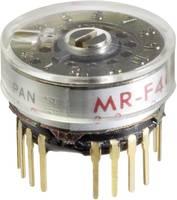 NKK Switches MRF206 Forgó kapcsoló 125 V/AC 0.25 A Kapcsolási pozíciók 6 1 x 30 ° 1 db NKK Switches