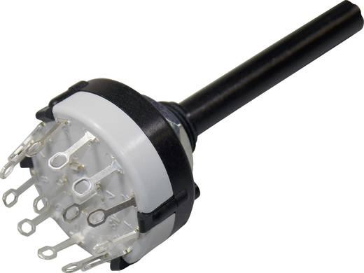 Lorlin fokozatkapcsoló 2x6, 250 V/AC, 0,15 A