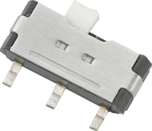 Tolókapcsoló 12 V/DC 0,05 A, 1 x be/be, SSK-1202