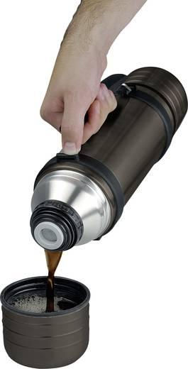 Vákuumos rozsdamentes acél palack, 1 l, titánszürke, Isosteel Duo
