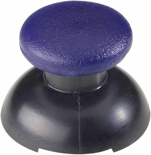 Joystick soft-touch gomb kék