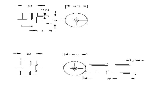 Jeladók elektronika nélkül, AL-60 sorozat Hangerő: 85 dB 1 - 2 V/DC