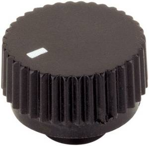 Forgatógomb Mutatóval Fekete (Ø x Ma) 17 mm x 12 mm TRU COMPONENTS TC-17/6/SW203 TRU COMPONENTS