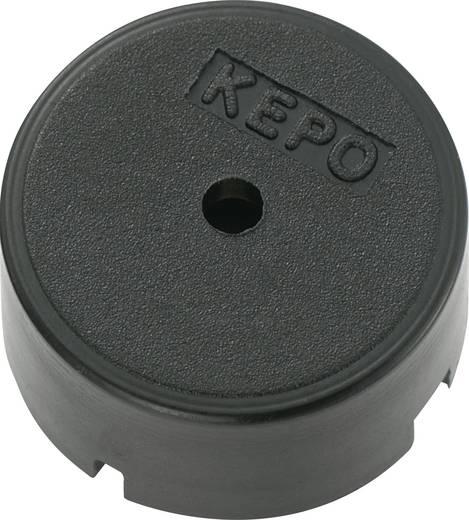 Kepo piezo jeladó, 80dB 9V/AC 3mA 4kHz, KPT-G1340P35A-05-6236