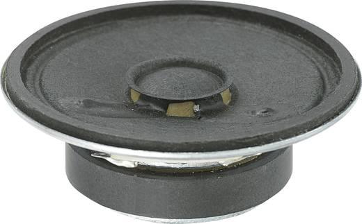 Miniatűr hangszóró, KP sorozat KEPO KP50170SP1-5807 88 dB ± 3 dB, 8 Ω ± 15 % Ω, 17 mm, 0.25 W, 1 db, KP50170SP1-5806
