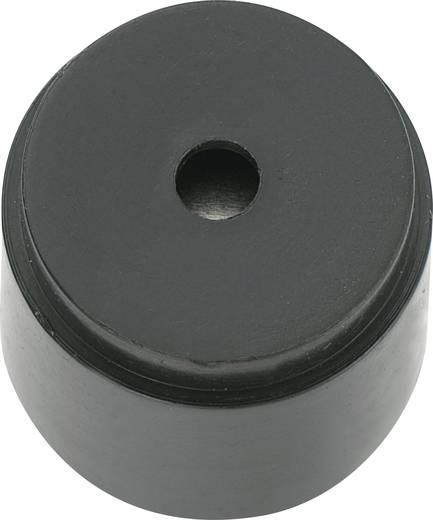 Mágneses zümmer elektronikával 85 dB 12 V/DC 30 mA 2,3 kHz, KPX-G1612A-6342