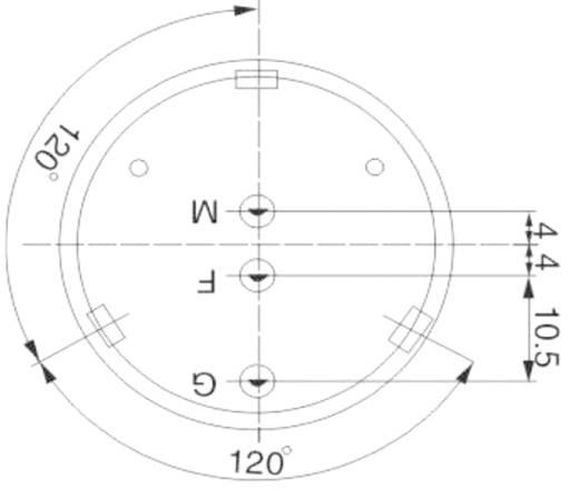 Kepo piezo jeladó, 106dB 12V/DC 13mA 3,9kHz, KPT3-G4010G-6247