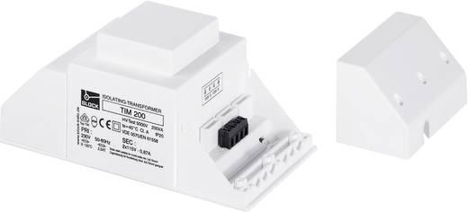 Leválasztó transzformátor 2 x 115 V, 2 x 260 mA, 60 VA, Block