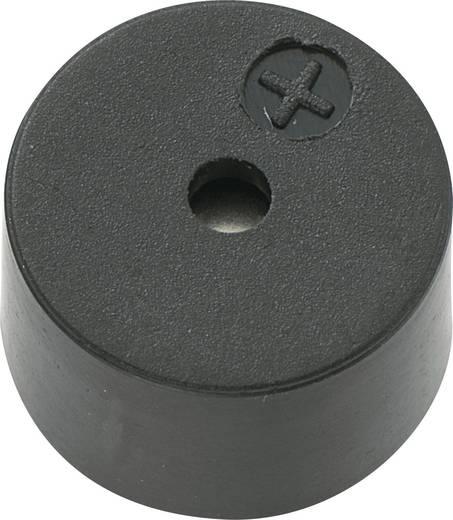 Mágneses zümmer elektronikával 80 dB 5 V/DC 30 mA 2,7 kHz, KPX-G0905B-6334