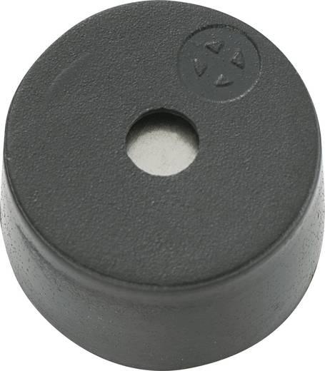 Mágneses zümmer elektronikával 85 dB 12 V/DC 30 mA 2,3 kHz, KPX-G1212UB-6399