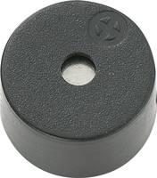 Mágneses zümmer elektronikával 85 dB 12 V/DC 30 mA 3,1 kHz, KPX-G1212B-6401 KEPO