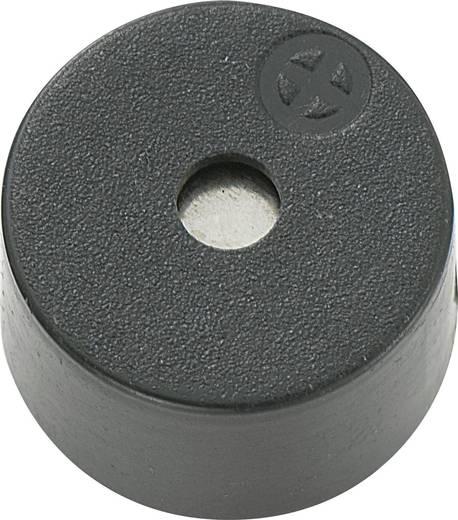 Mágneses zümmer elektronikával 85 dB 12 V/DC 30 mA 3,1 kHz, KPX-G1212B-6401
