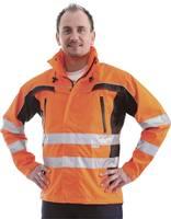 L+D ELDEE 40899 Figyelmeztető dzseki Tambora élénk narancssárga / fekete Méret=XXXL EN ISO 20471: 2013, 3. osztály; EN L+D ELDEE