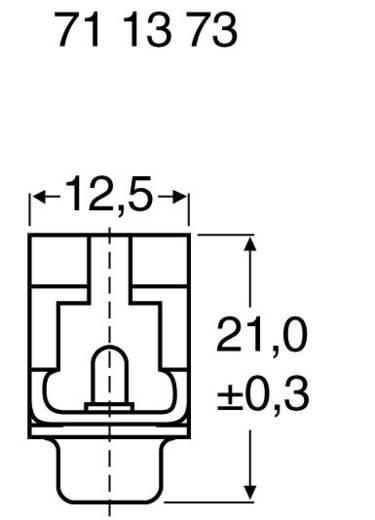SUB D laposkábel 15 pólusú csatlakozóhüvely