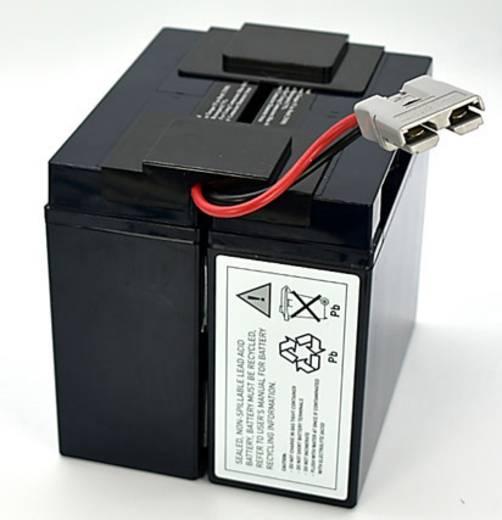 USV berendezés akku Conrad energy Megfelelő eredeti akku RBC55